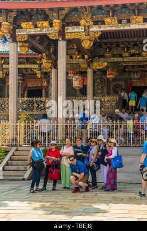 The leong san tong khoo kongsi clan house - Stock Photo