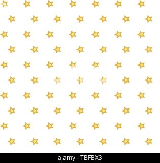 Vector seamless background with stars - Stock Photo