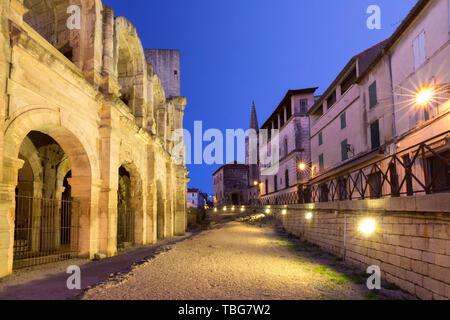 Arles Amphitheatre, France - Stock Photo
