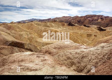 Zabriskie Point in Death Valley National Park in California, USA