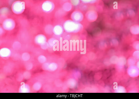 Blurred view of shiny lights - Stock Photo