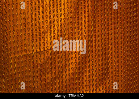 Abstract orange chains background - Stock Photo