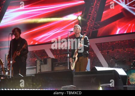 May Day (01st) Concert at Piazza San Giovanni  Featuring: Noel Gallagher Where: Rome, Italy When: 01 May 2019 Credit: IPA/WENN.com  **Only available for publication in UK, USA, Germany, Austria, Switzerland** - Stock Photo