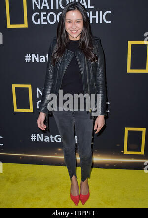 Los Angeles, United States. 02nd June, 2019. LOS ANGELES, CALIFORNIA, USA - JUNE 02: Chai Vasarhelyi arrives at the National Geographic's Contenders Showcase held at The Greek Theatre on June 2, 2019 in Los Angeles, California, United States. ( Credit: Image Press Agency/Alamy Live News - Stock Photo