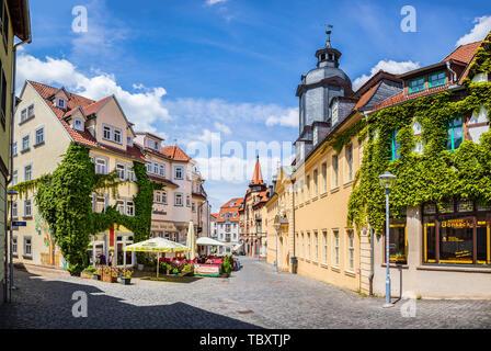 GOTHA, GERMANY - CIRCA MAY, 2019: Townscape of Gotha in Thuringia, Germany - Stock Photo