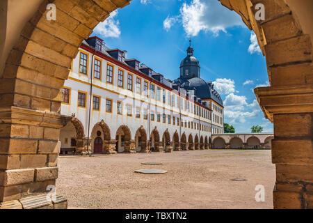 GOTHA, GERMANY - CIRCA MAY, 2019: Schloss Friedenstein of Gotha in Thuringia, Germany - Stock Photo