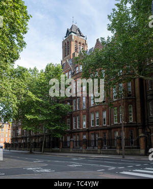 St Pancras NHS hospital near Kings Cross in London specialising in geriatric and psychiatric medicine. - Stock Photo