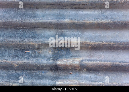 Rusted galvanized iron plate texture - Stock Photo