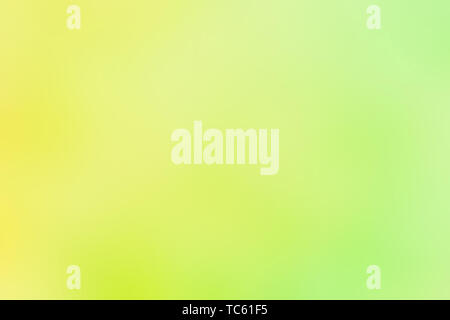 Abstract watercolor colorful green yellow  blur gradient background web banner - Stock Photo