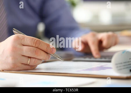Business Bureaucracy Accounting Expertise Process - Stock Photo