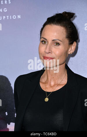 Los Angeles, USA. 06th June, 2019. LOS ANGELES, USA. June 06, 2019: Minnie Driver at the premiere for 'Ice on Fire' at the LA County Museum of Art. Picture Credit: Paul Smith/Alamy Live News - Stock Photo
