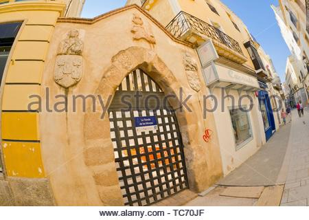 Museo Convento de Santa Clara, Monasterio de Santa María del Valle, Zafra, Badajoz, Extremadura, Spain, Europe. - Stock Photo