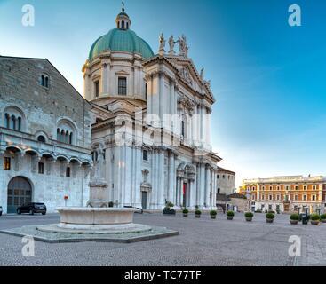 Cathedral of Brescia (Duomo nuovo di Brescia) - Stock Photo