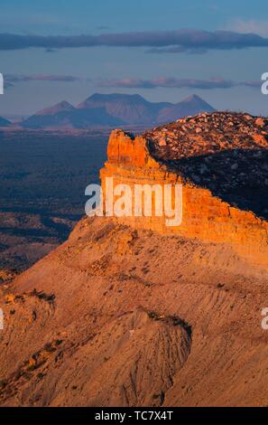 Mesa Verde National Park, Unesco World Heritage Site, Colorado, Usa, America. - Stock Photo