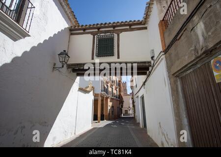 San Clemente town in Cuenca Castile La Mancha Spain. - Stock Photo