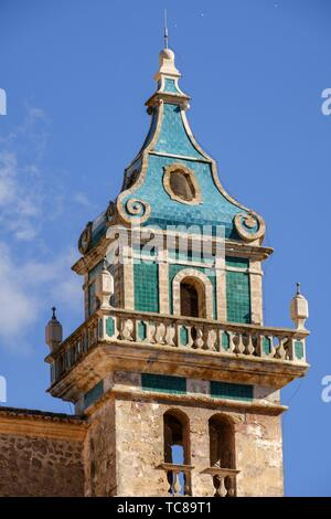 cartuja de Valldemosa, la Cartoixa de Valldemossa, Mallorca, Balearic islands, spain. - Stock Photo