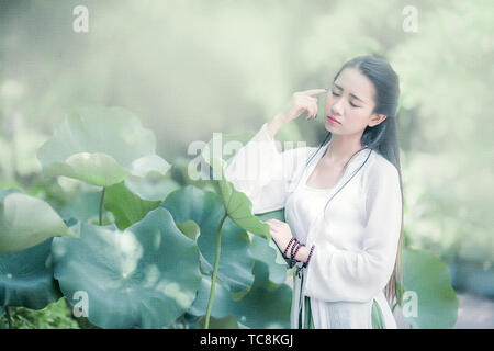 Ancient people are like lotus. - Stock Photo