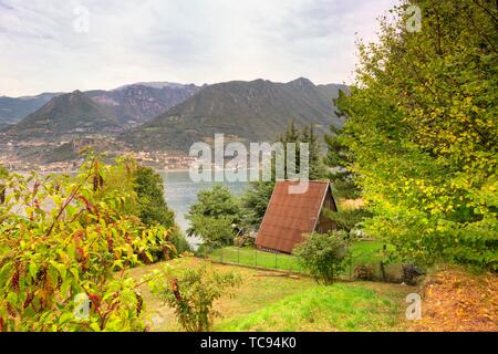 Monte Isola, Lombardy, Italy - Stock Photo