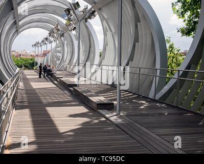 Puente de Arganzuela. Madrid. España. - Stock Photo