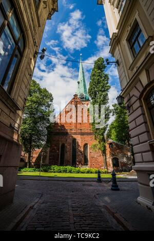 Cathedral Basilica of St. James (St. James's Cathedral). Riga, Latvia, Baltic States, Europe. - Stock Photo