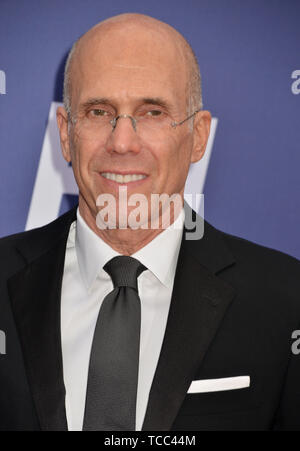 Los Angeles, USA. 06th June, 2019. Jeffrey Katzenberg attends the American Film Institute's 47th Life Achievement Award Gala Tribute To Denzel Washington at Dolby Theatre on June 6, 2019 in Hollywood, California Credit: Tsuni/USA/Alamy Live News - Stock Photo