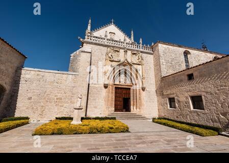 Cartuja de Miraflores monastery, Burgos, Castilla y Leon Spain. - Stock Photo