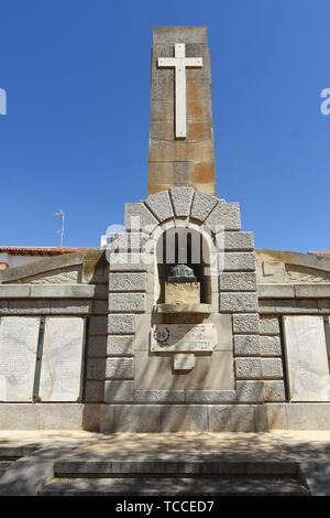 Monument to the fallen by Spain , Ocaña, Castile La Mancha,Spain. - Stock Photo