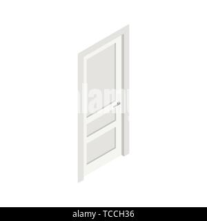 Door isometric icon. - Stock Photo