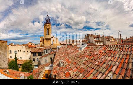 Church in Aix-en-Provence, France - Stock Photo