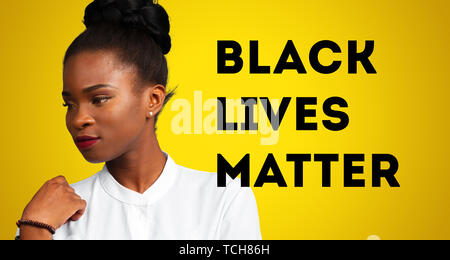Black lives matter - Stock Photo