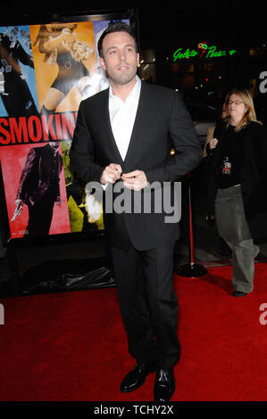 LOS ANGELES, CA. January 18, 2007: BEN AFFLECK at the world premiere of his new movie 'Smokin' Aces' at Grauman's Chinese Theatre, Hollywood. © 2007 Paul Smith / Featureflash - Stock Photo