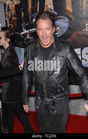 LOS ANGELES, CA. February 27, 2007: Tim Allen at the world premiere of 'Wild Hogs' at the El Capitan Theatre, Hollywood. © 2007 Paul Smith / Featureflash - Stock Photo