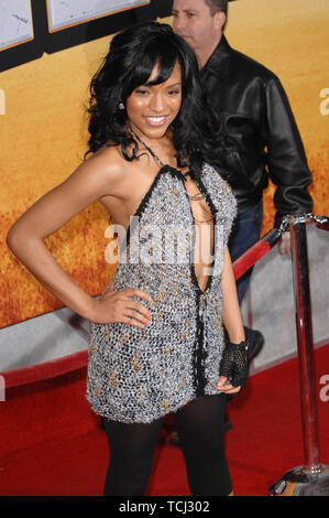 LOS ANGELES, CA. February 27, 2007: Drew Sidora at the world premiere of 'Wild Hogs' at the El Capitan Theatre, Hollywood. © 2007 Paul Smith / Featureflash - Stock Photo