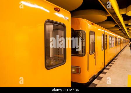 Subway in Berlin - Stock Photo