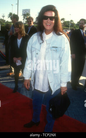 Hollywood, California, USA 23rd June 1994 Singer/songwriter Grace Slick attends Paramount Pictures 'Forrest Gump' Premiere on June 23, 1994 at Paramount Studios in Hollywood, California, USA. Photo by Barry King/Alamy Stock Photo - Stock Photo