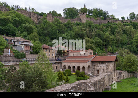 The Holy Forty Martyrs Church is a medieval church in the old town Veliko Tarnovo. Eastern Orthodox church - Stock Photo