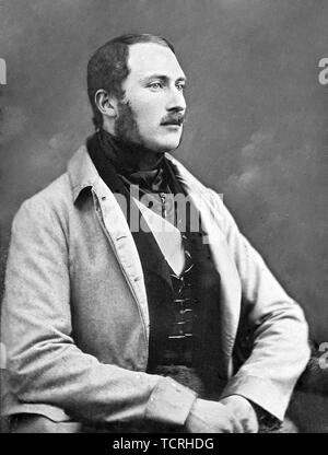 Prince Albert of Saxe-Coburg and Gotha (Francis Albert Augustus Charles Emmanuel, 1819 – 1861) was the husband of Queen Victoria - Stock Photo