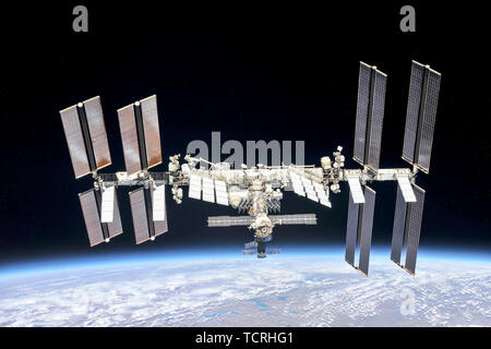 International Space Station, ISS - Stock Photo