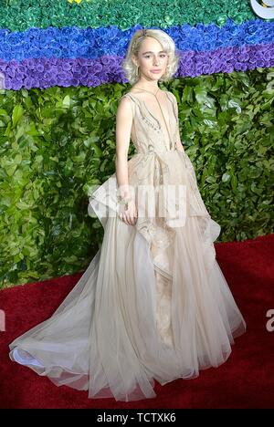 Sophia Ann Caruso at arrivals for 73rd Annual Tony Awards - Part 2, Radio City Music Hall at Rockefeller Center, New York, NY June 9, 2019. Photo By: Kristin Callahan/Everett Collection - Stock Photo