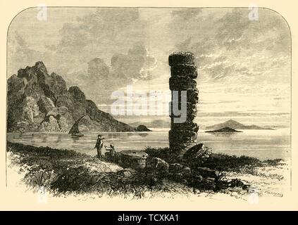 'On the Coast of Samos', 1890.   Creator: Unknown. - Stock Photo