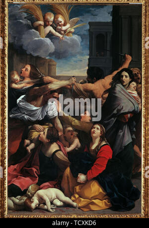 The Massacre of the Innocents, 1611. Creator: Reni, Guido (1575-1642). - Stock Photo
