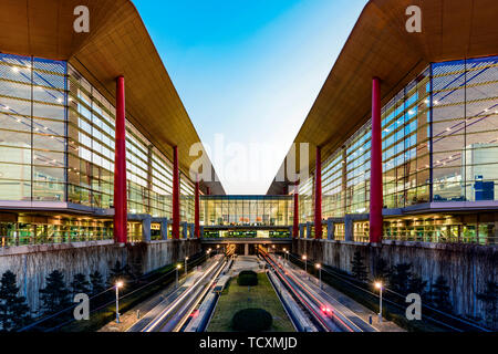 Beijing airport terminal 3 - Stock Photo