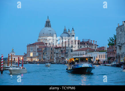 VENICE - September 28, 2017: Venice is the capital of the Veneto region of Italy and is spread over 118 islands. Only 55,000 people live in the city p - Stock Photo