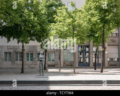 BERLIN, GERMANY - MAY 30, 2019: The Commemorative Courtyard of The German Resistance Memorial Center In Berlin, Germany - Stock Photo