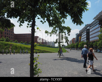 BERLIN, GERMANY - CIRCA JUNE 2019: Potsdamer Platz - Stock Photo