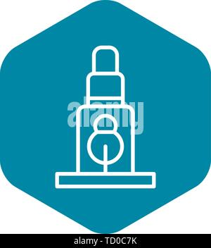 Scaffold support icon, outline style - Stock Photo