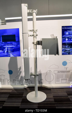London, UK. 11th June, 2019. 5G World at Excel London, on 11 June 2019, UK Credit: Picture Capital/Alamy Live News - Stock Photo