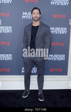 Los Angeles, Ca, USA. 10th June, 2019. Victor Turpin at the Los Angeles Premiere Screening of Murder Mystery at Regency Village Theatre in Los Angeles, California on June 10, 2019. Credit: David Edwards/Media Punch/Alamy Live News