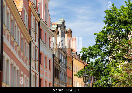 Wroclaw / Poland. Historical architecture on the main square - Stock Photo