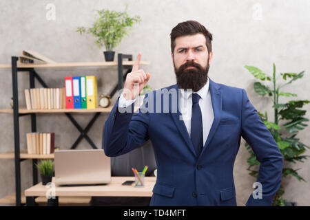 Recruitment department. Job interview. Welcome team member. Recruiter professional occupation. HR manager. Man bearded manager recruiter in office. Recruiter career. Human resources. Hiring concept. - Stock Photo